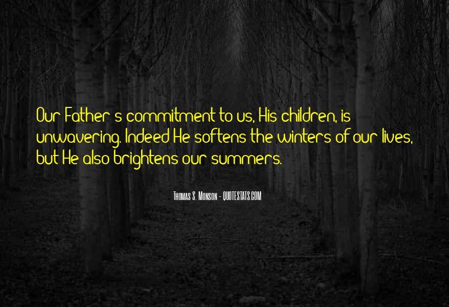 Unwavering Commitment Quotes #1717974