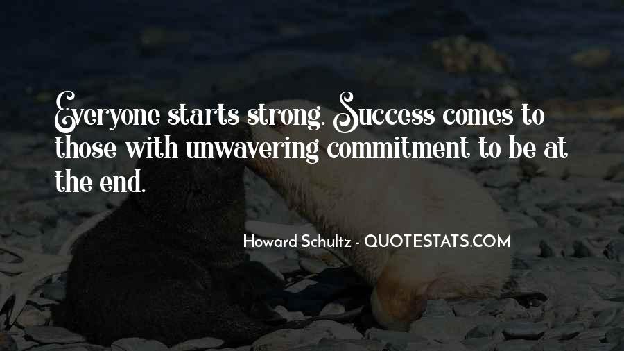 Unwavering Commitment Quotes #261371
