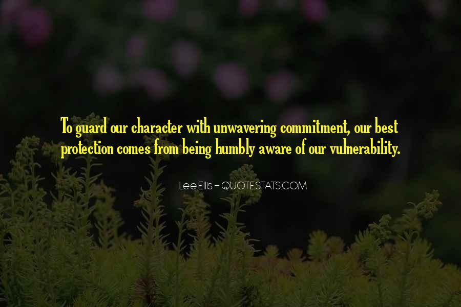 Unwavering Commitment Quotes #855842