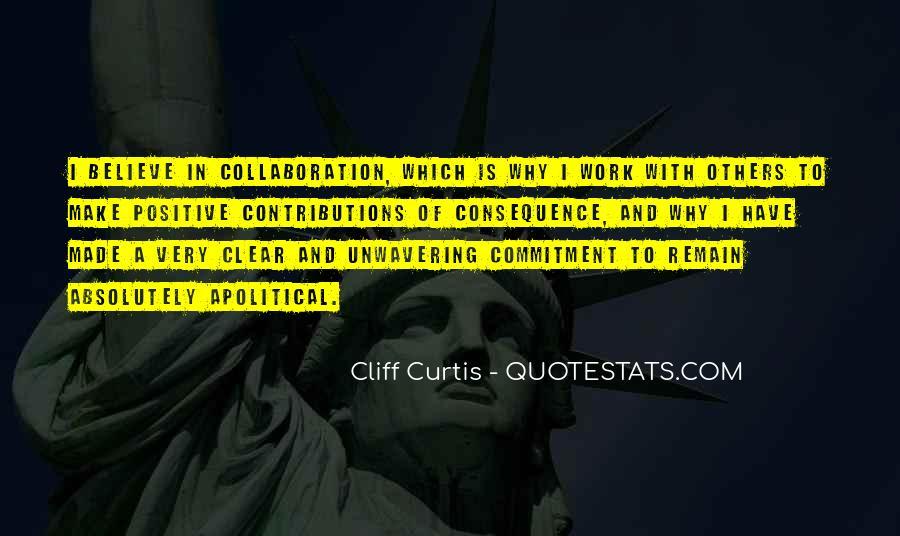 Unwavering Commitment Quotes #991970