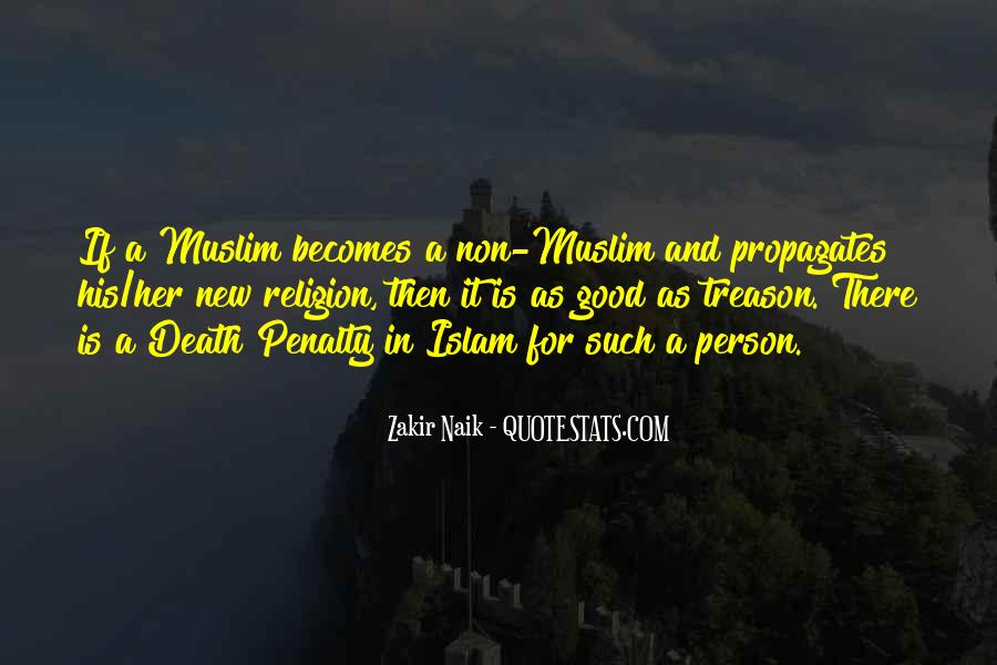 Quotes About Islamic Death #1126686