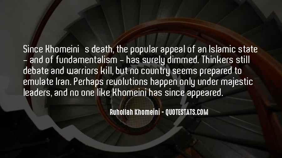 Quotes About Islamic Death #1361099