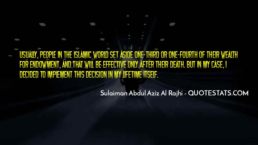 Quotes About Islamic Death #1783524