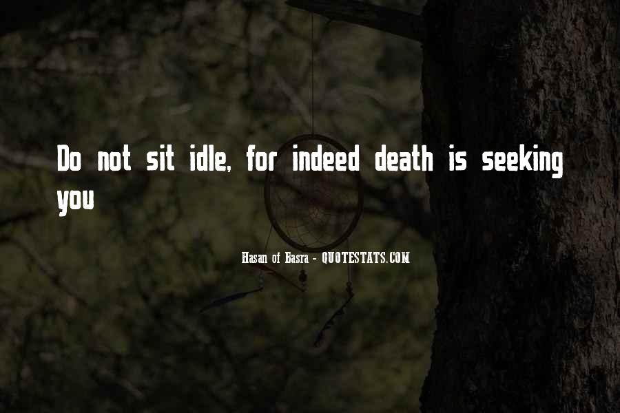 Quotes About Islamic Death #442637