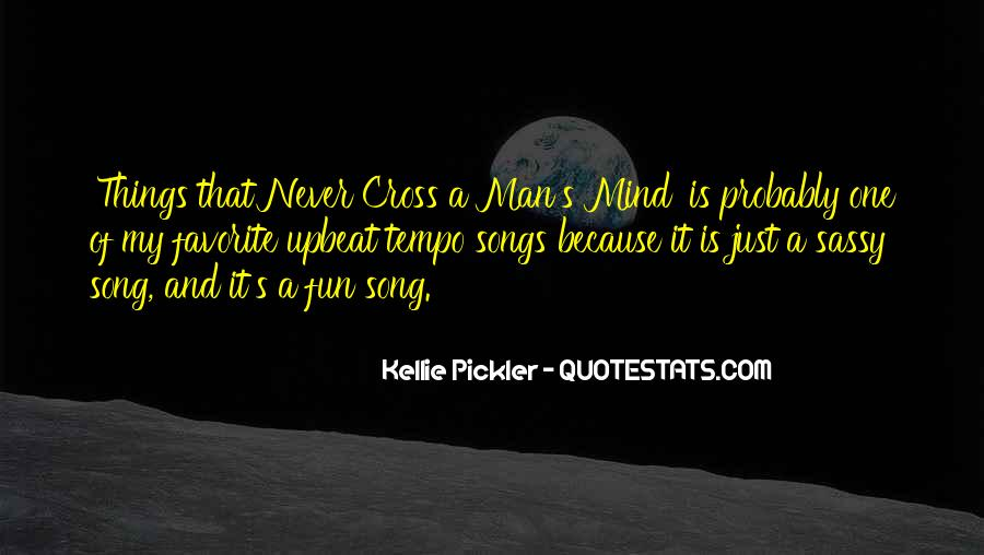 Upbeat Song Quotes #1518772