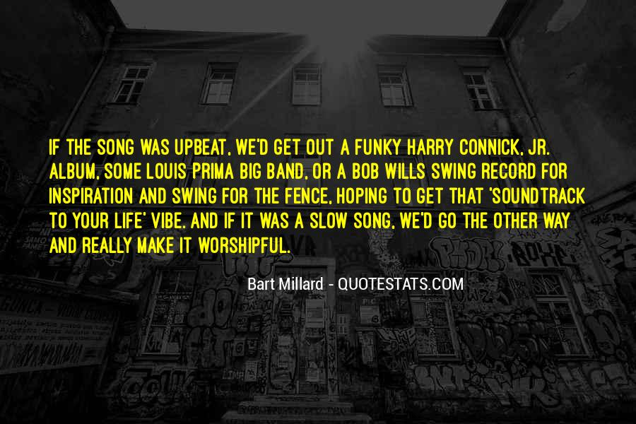 Upbeat Song Quotes #1772576