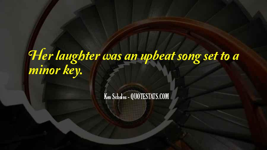 Upbeat Song Quotes #1785332