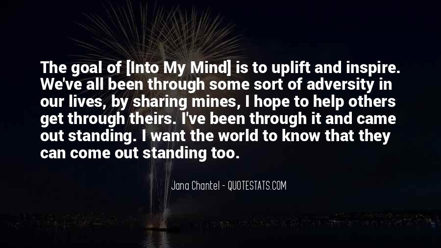 Uplift Quotes #1295912
