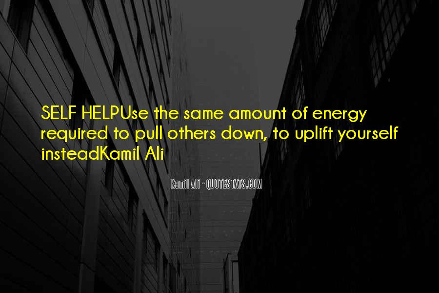 Uplift Quotes #244915