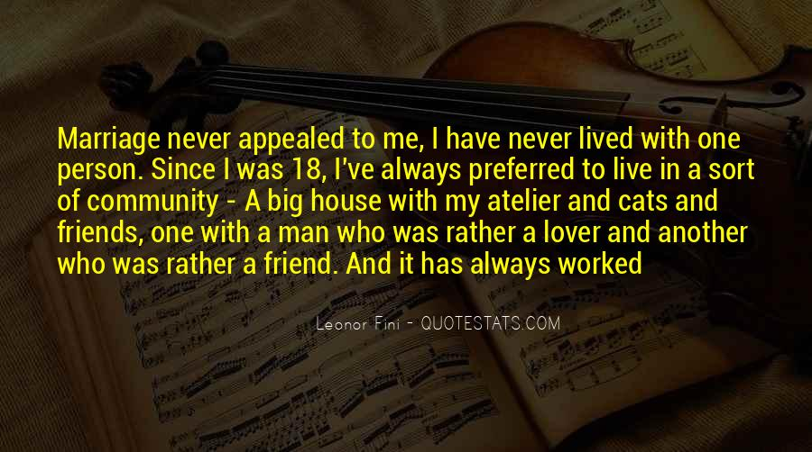 Quotes About Friend And Lover #1301267