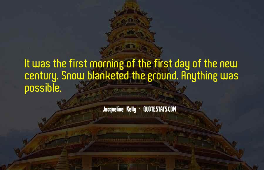 Quotes About First Snow #1215500