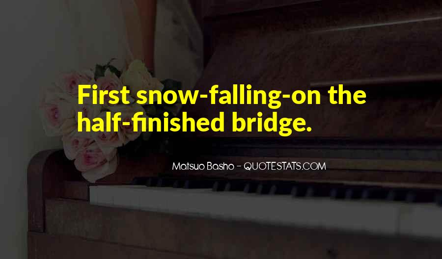 Quotes About First Snow #144464