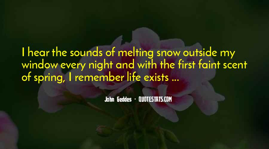 Quotes About First Snow #1444786