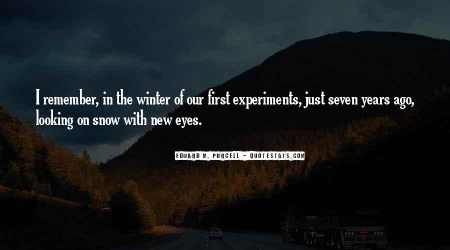 Quotes About First Snow #169285