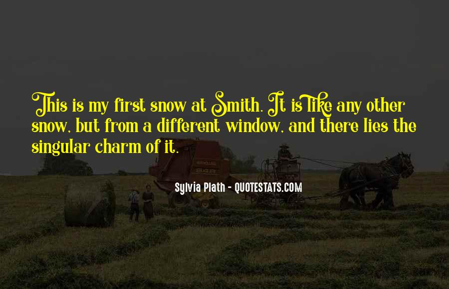 Quotes About First Snow #301196