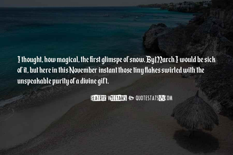 Quotes About First Snow #360311