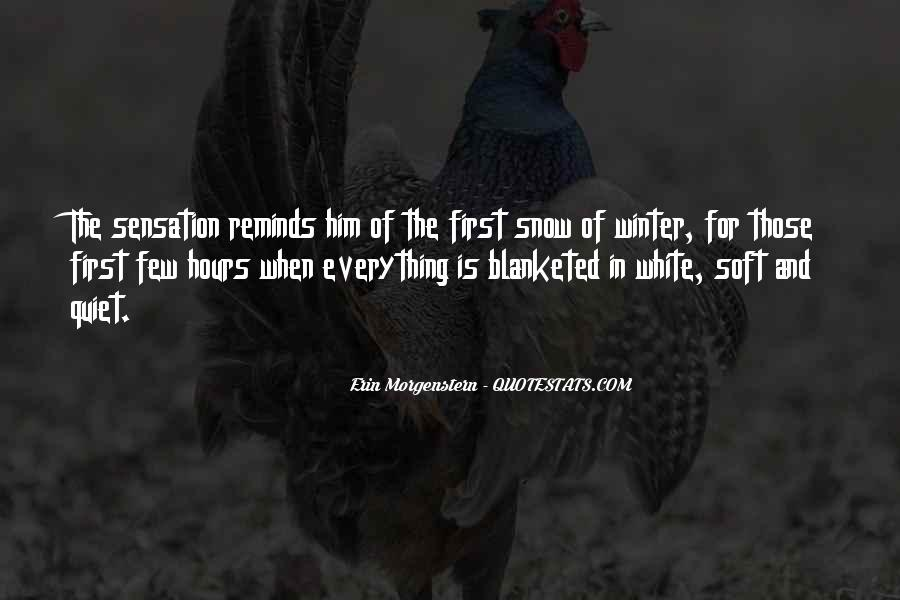 Quotes About First Snow #405197