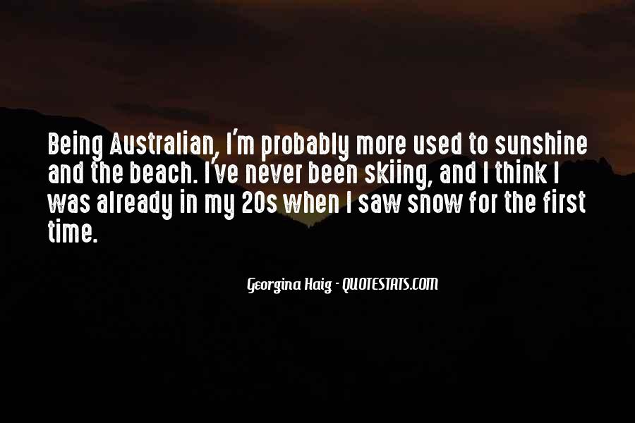 Quotes About First Snow #555087