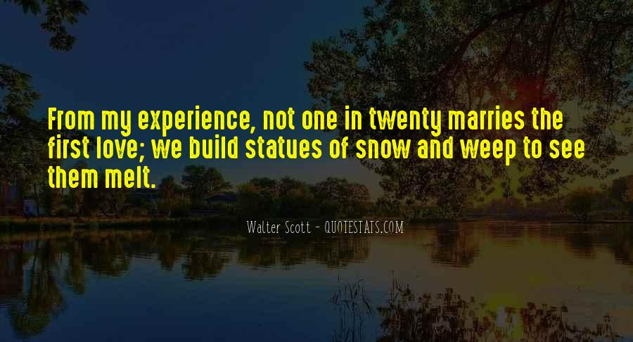 Quotes About First Snow #680292