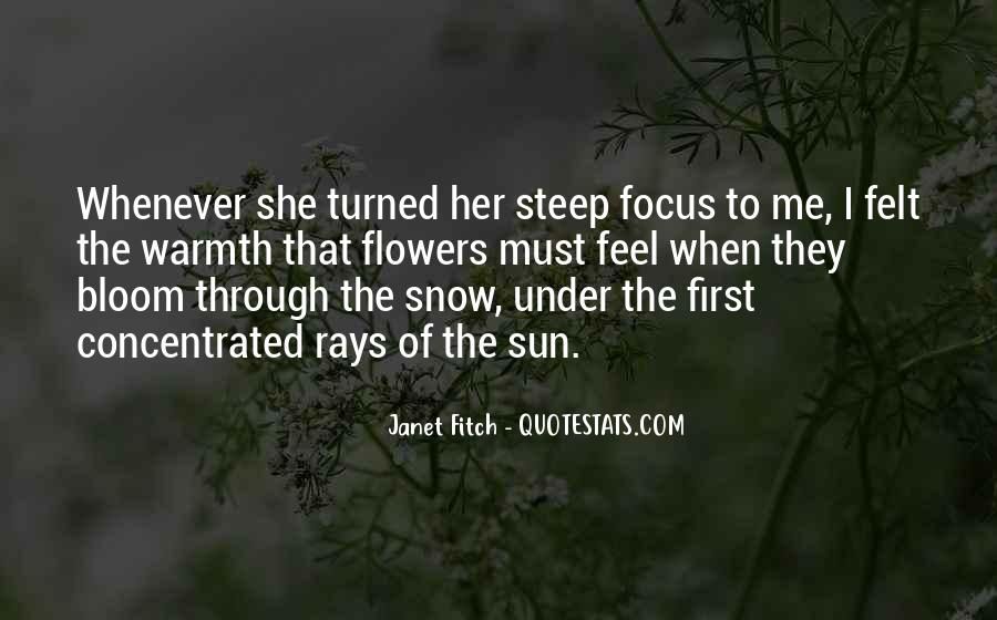 Quotes About First Snow #999951