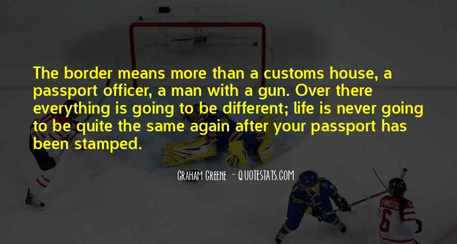 Us Customs Quotes #161093