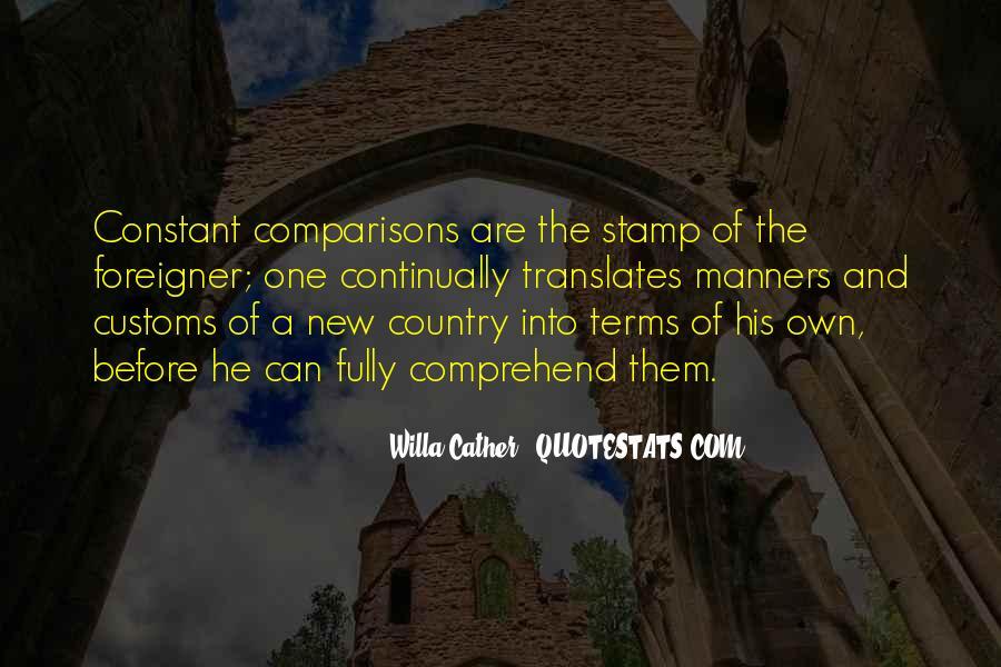 Us Customs Quotes #167555