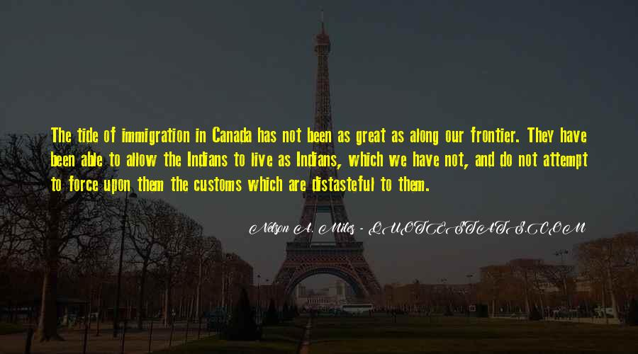 Us Customs Quotes #196641