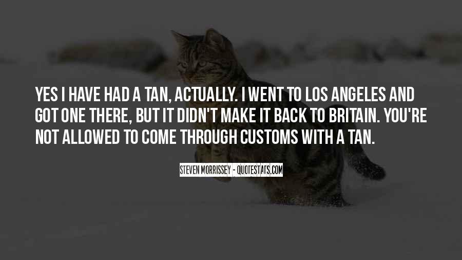 Us Customs Quotes #230180