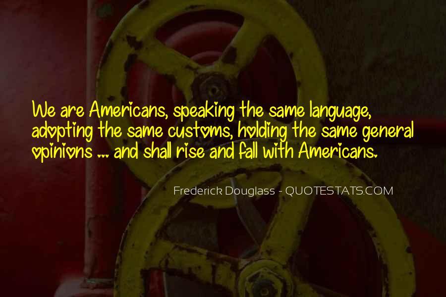 Us Customs Quotes #78735