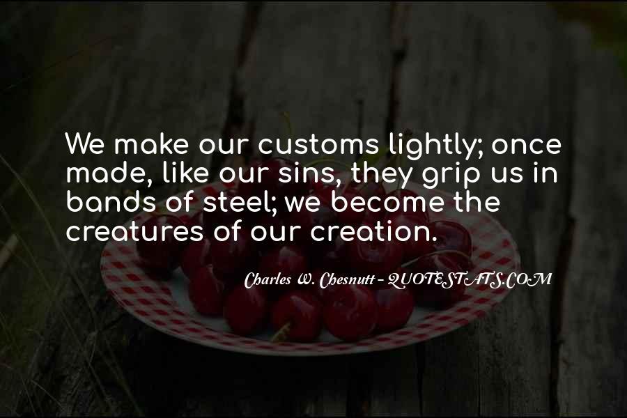 Us Customs Quotes #847100