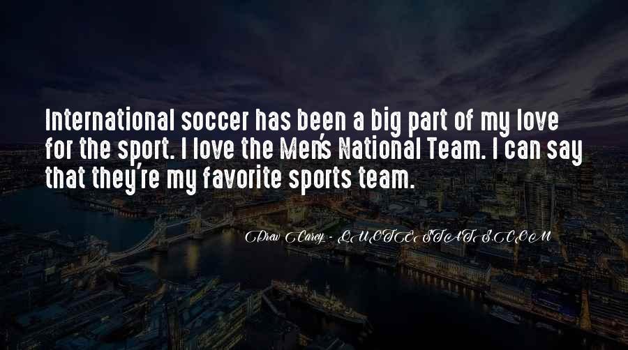 Us Men's Soccer Quotes #1597757
