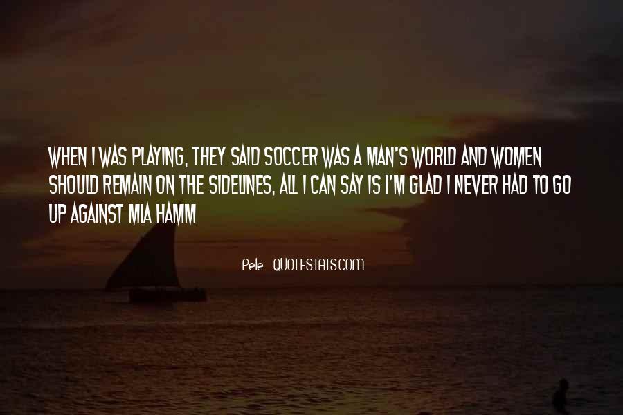 Us Men's Soccer Quotes #325691