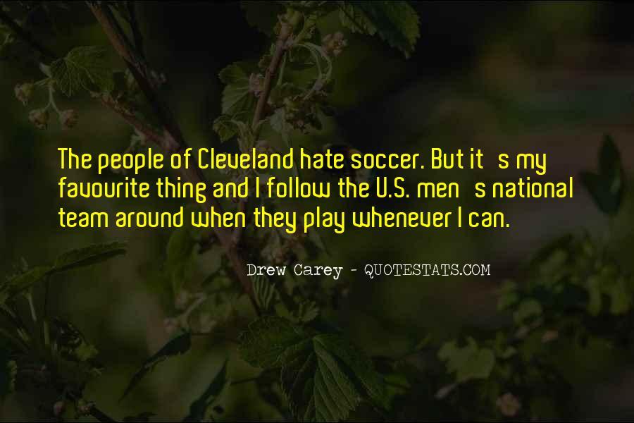 Us Men's Soccer Quotes #650522