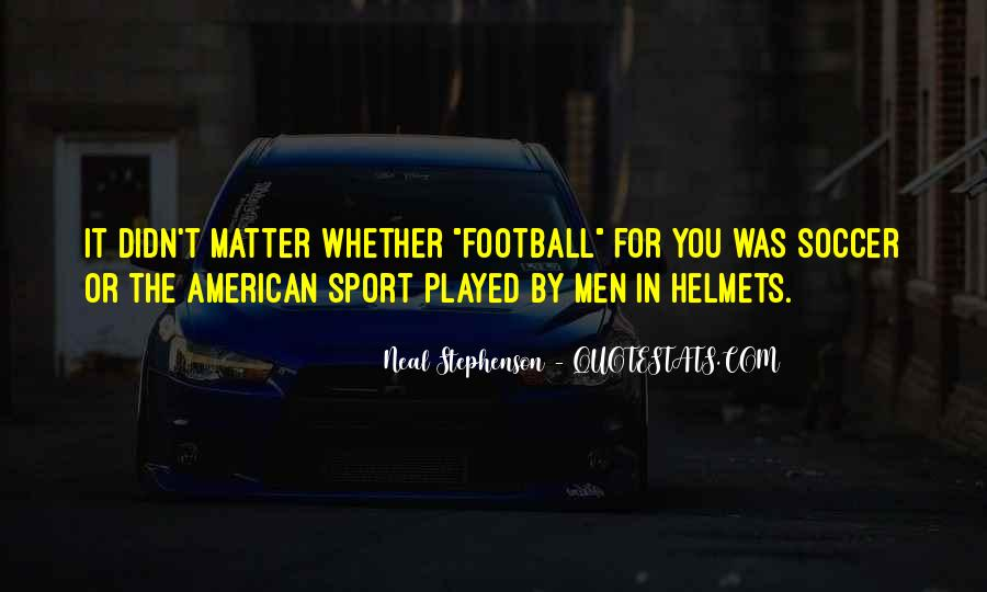 Us Men's Soccer Quotes #931914