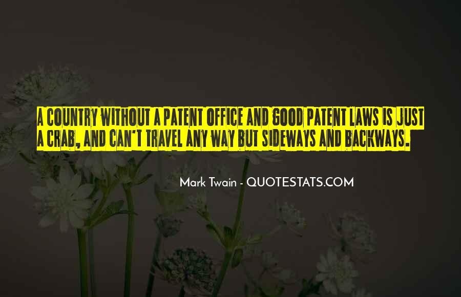 Us Patent Office Quotes #1144850
