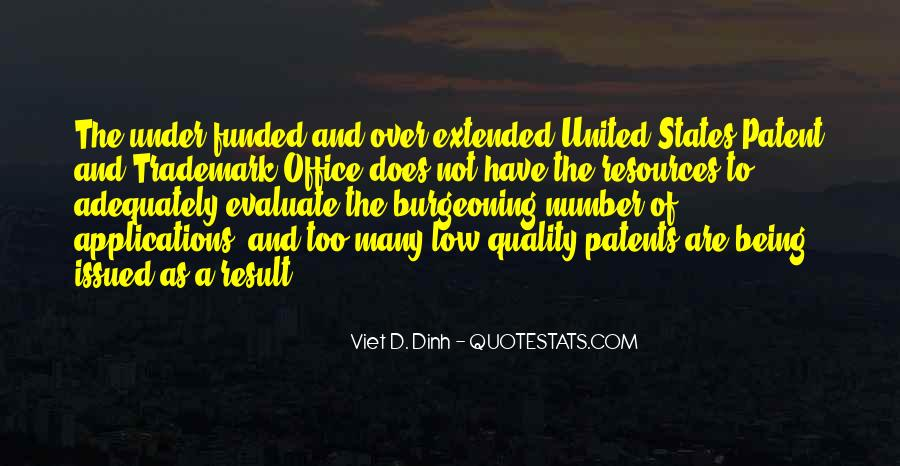 Us Patent Office Quotes #1175486
