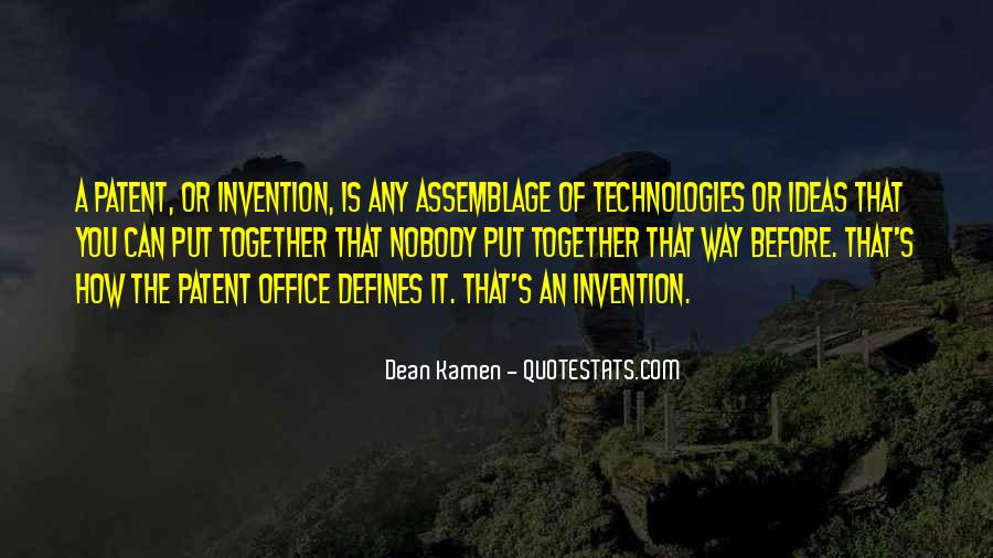 Us Patent Office Quotes #54104