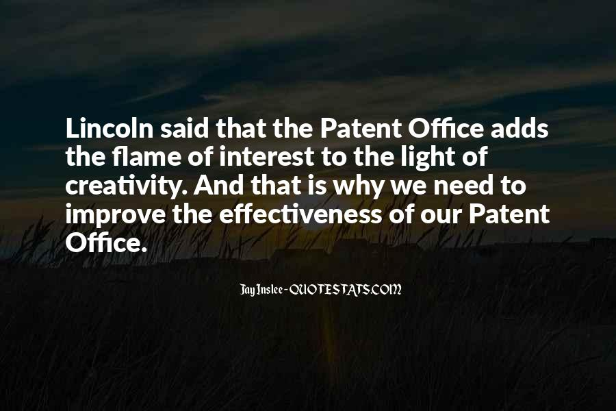 Us Patent Office Quotes #931339