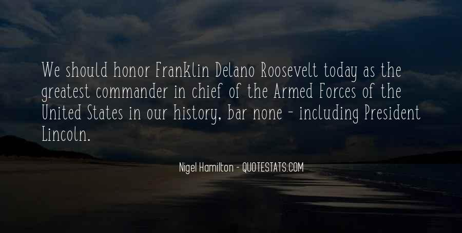Us President Roosevelt Quotes #116561