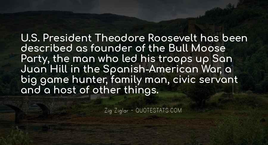 Us President Roosevelt Quotes #136305