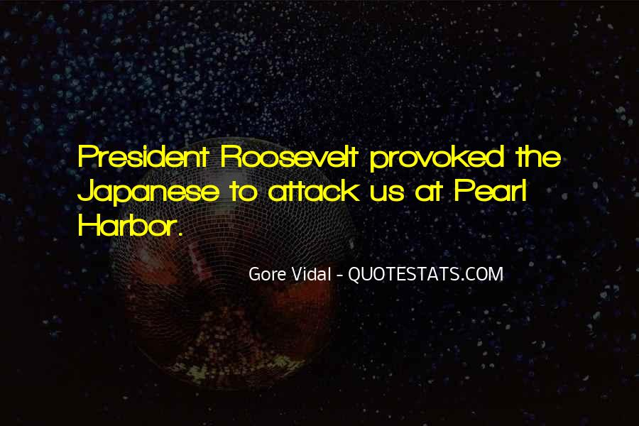 Us President Roosevelt Quotes #1364204