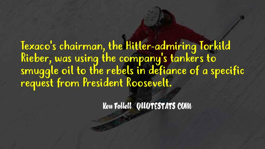 Us President Roosevelt Quotes #146764