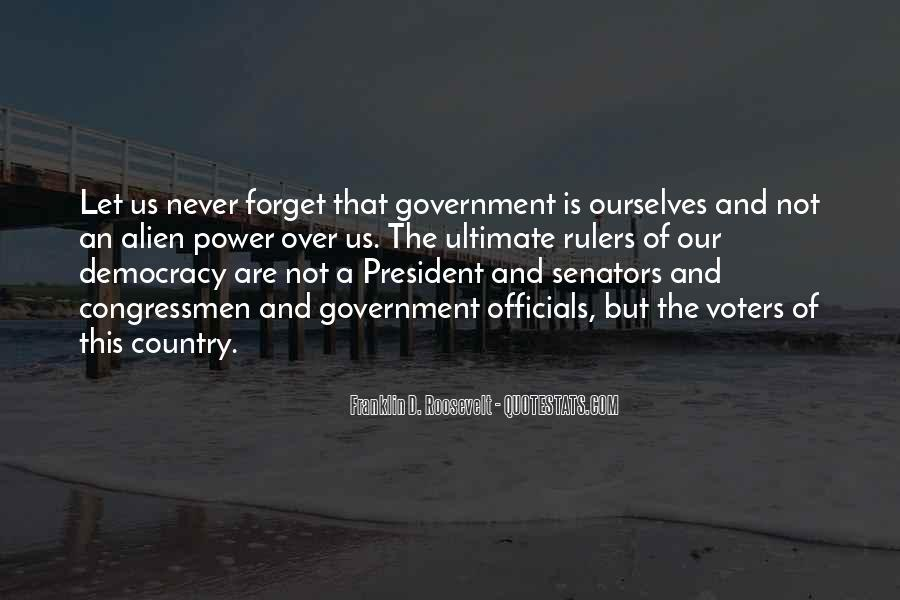 Us President Roosevelt Quotes #15723