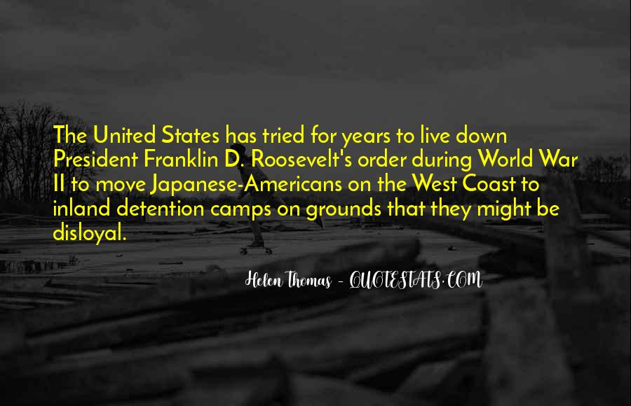 Us President Roosevelt Quotes #302746