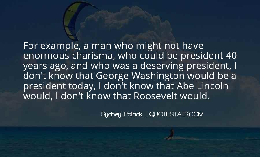 Us President Roosevelt Quotes #34271