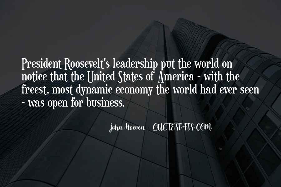 Us President Roosevelt Quotes #416833