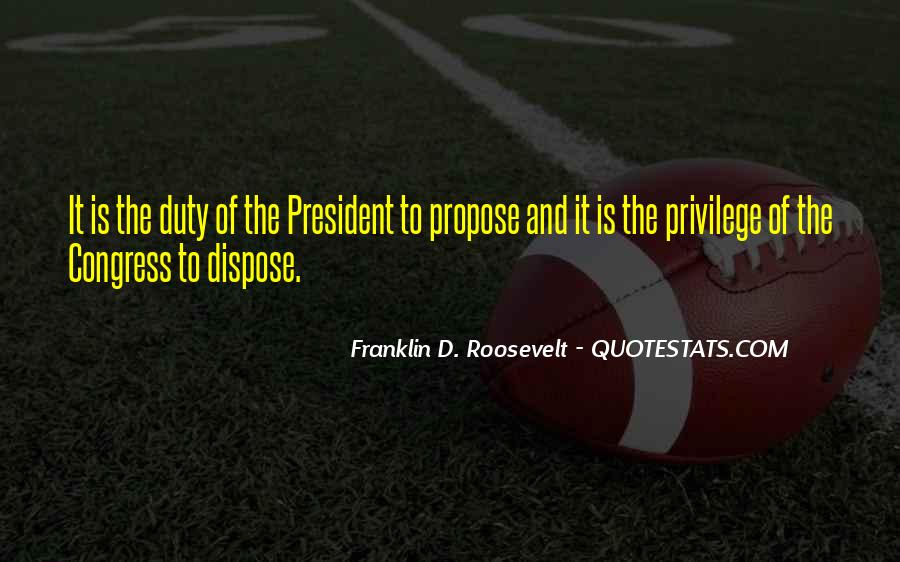 Us President Roosevelt Quotes #515516