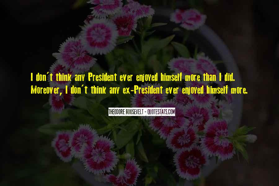 Us President Roosevelt Quotes #670684