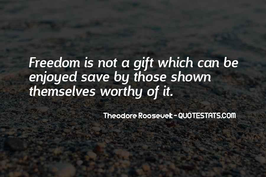 Us President Roosevelt Quotes #6893
