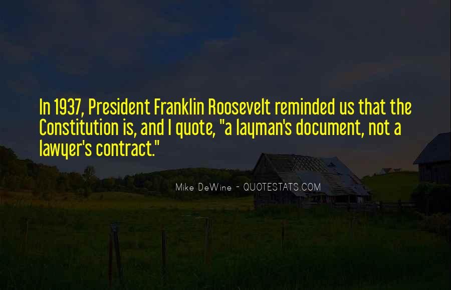 Us President Roosevelt Quotes #689322